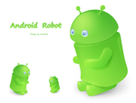Android robot by jordanfc