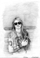 Axl Rose by Risk-in-the-kiss