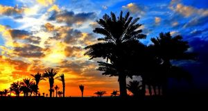 UAE Beach Sunset 6 by Hamrani