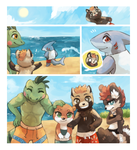 junetask: swim lesson intro by Middroo