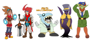 TOME: Halloween Costumes 2013 by Kirbopher15