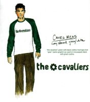 cavaliers mens shirt by odandiee