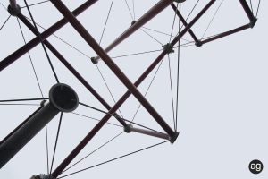 Tensegrity - Detail II by AlexandreGuilbeault