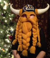 Pitt football logo on viking helm by Drgibbs
