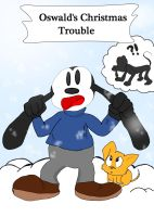 Oswald's Christmas Trouble Title page by dnxlightangel