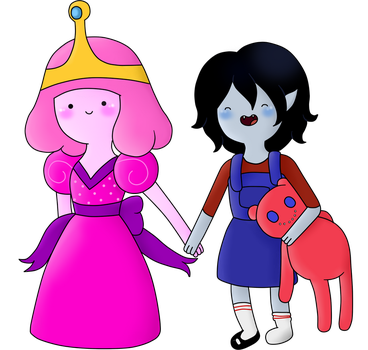 Request: Little Peebles and Little Marcy by AndiScissorhands