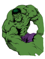 Hulk by blackmoonrose13