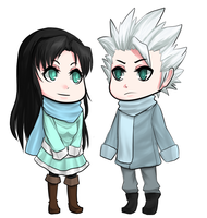 PC Akito and Toshiro by CyanOnigiri