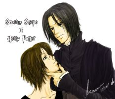 Snape X Harry by kaworu0926