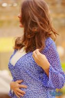 Blue top by Niecy57