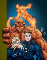 Fantastic Four 2011 by MarcBourcier