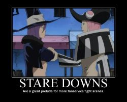 Soul Eater Stare Downs by trebor469