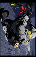 Batman (color and a little edition) by aeanchile