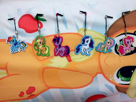 MLP acrylic charms by fluffyducky-plushie