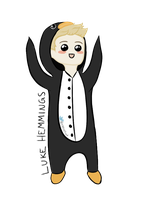 Luke Hemmings by xPheles