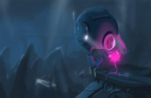 Robotic Scout by Jeffufu