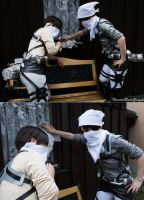 How to clean Eren - Levi x Eren SnK Cosplay by K-I-M-I