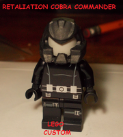 RETALIATION COBRA COMMANDER LEGO CUSTOM by TMNTFAN85