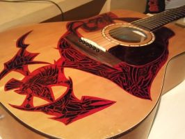 Guitar Art- S and P: Study 3 by EndsOfInvention