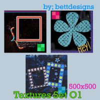 Textures Set O1 by bettdesigns