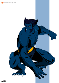 Beast (X-Men) by FeydRautha81