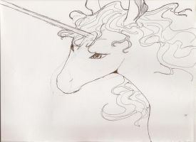 The Last Unicorn by impish-midna