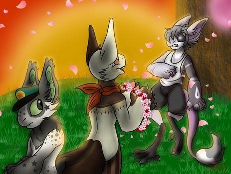 .:Spring Festival:. Caught Off Guard by Loves-To-Derp