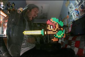 Link Light Stencil UPDATE by truemarmalade