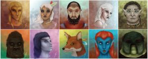 The Other Races of Tamriel by ThePurpleSorcerer
