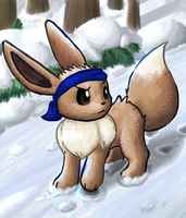 Rift the Eevee by DarkDrawerCompany