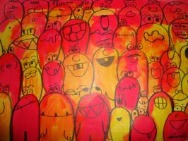 orange people by hawlemai