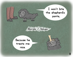 Psychology Animals - Thinking Process 4 by Nightmarecookie2