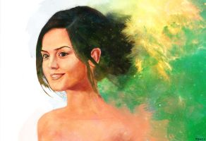 Jenna Louise Coleman by Tom-Cii