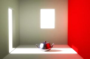 Scene with Teapot by adamso