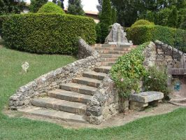 Stone staircase III by fairling-stock