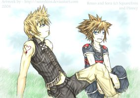 KH: Taking a Break by sazzykins