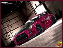 Nissan Gt-R 2008 - BattleCry by Battle-Cry-TR