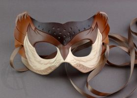 Simple Owl Mask by owlspeckles