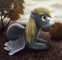 Autumn Derpy by Bbrush