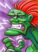 Blanka sketch card by Chad73