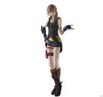 FF XIII-2 Lightning Style and Steel by SefiroCrescent