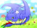 Toothless -Colored- by FluffyBunny710