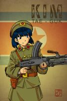 Tae-guk And Her Bren LMG by avary