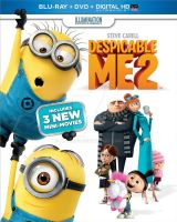 Despicable Me 2 Official Blu-Ray Cover by ABToons