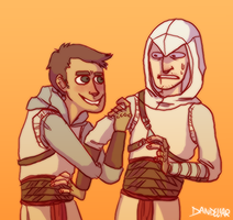 salim and altair by dandeliar