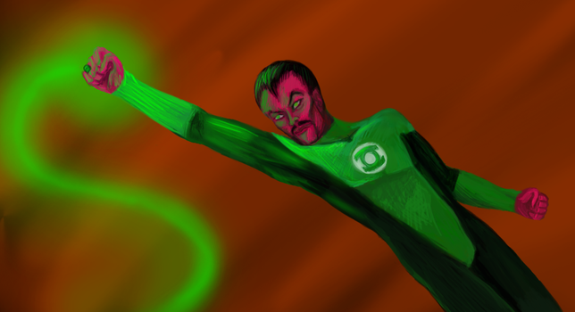 Sinestro by R-Newman