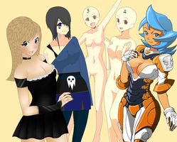 Group Collab - yey i finished by Lunamania