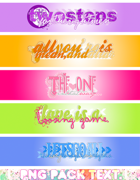 .Png pack text O8 by imnotsupermodel