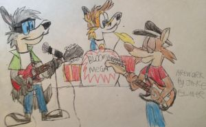 Band Practice by Wolfie-Jake