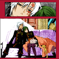 D. Gray-man page from mang 168 by Kaza-Than93